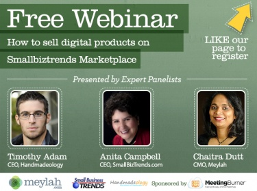 NEW Webinar: How to sell digital products on small business
