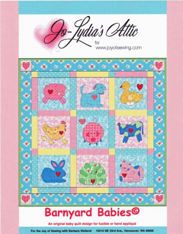 Free Pattern Funny Farm | Farm animal baby quilt | Pinterest
