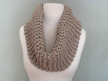 Pure Wool Infinity Scarf Cowl Capelet Snood Meylah