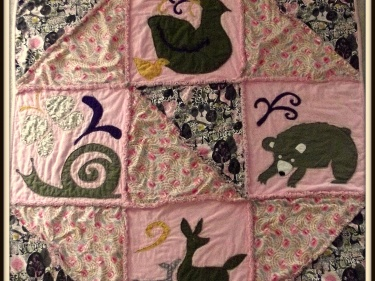 Forest Animal Baby Quilt Patterns Sewing Patterns For Baby