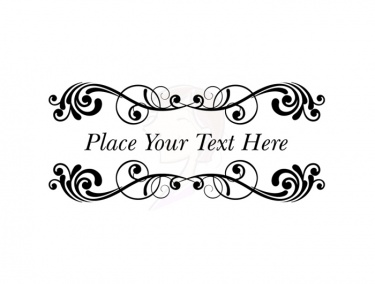 vintage digital borders great as wedding invitations design 10288