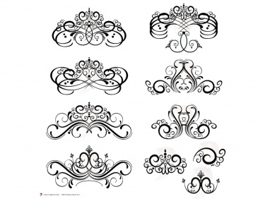 digital flourish clip art vintage flourish swirls design clipart rh meylah com free clip art flourishes and swirls Swirl Clip Art