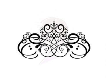 Digital Flourish Clip Art Vintage Flourish Swirls Design Clipart Fleur ...