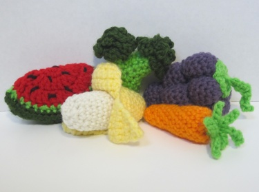 Crochet Patterns Vegetables Free : CROCHET PATTERNS FRUITS AND VEGETABLES FREE CROCHET PATTERNS