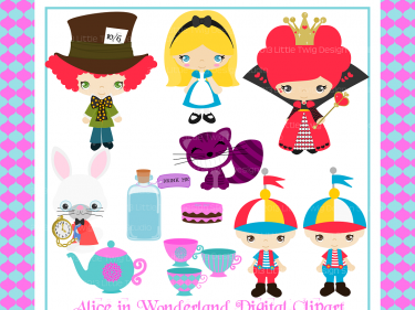 alice in wonderland digital clip art clipart collection personal rh meylah com digital clip art free digital clipart images