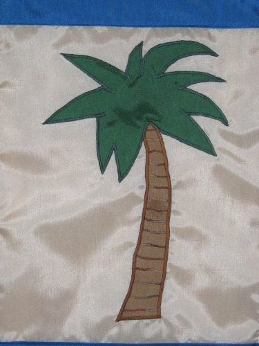 Welcome Palm Tree Garden Flag Meylah