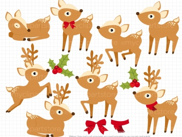 reindeer clipart corner PNG image with transparent background | TOPpng