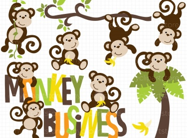 Monkey, Clip art and Monkey drawing on Pinterest
