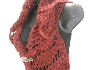 Elegant Crochet Jacket Bolero Shrug Pattern Tutorial Meylah