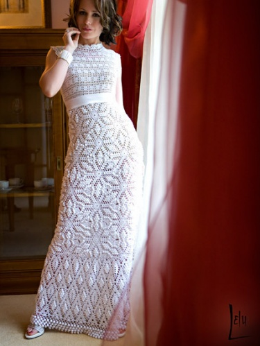 crochet wedding dress pattern diagrams pdf | Meylah