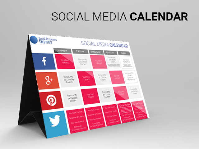 Free The Ultimate Social Media Calendar Every Small Business Needs