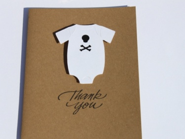 Skull And Crossbones Pirate Baby Shower Thank You Cards | Meylah