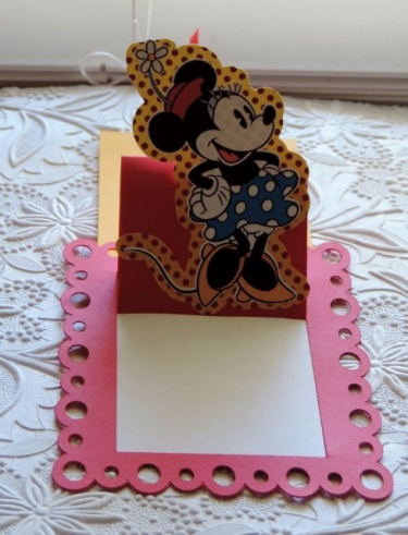 Birthday party invitations minnie mouse cards card stock invites birthday party invitations minnie mouse cards card stock invites 3d pop up pull up cards stopboris Image collections