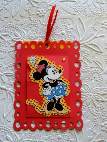 Birthday Party Invitations Minnie Mouse Cards Card Stock Invites 3d Pop Up Pull