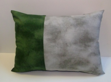 Charcoal Grey Gray Olive Green Color Block Pillow Cover Meylah