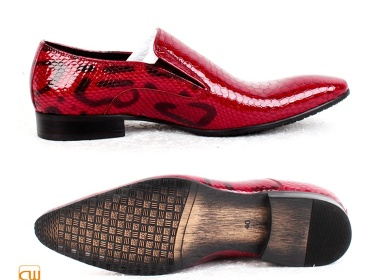 Mens Red Patent Leather Dress Shoes CW762053  Meylah