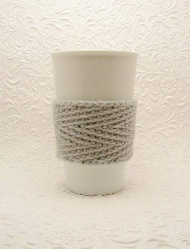 Tazo Cup Cozy Knitting Pattern Meylah