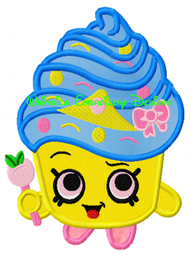 Shopkins Cupcake Queen Birthday Cake Images