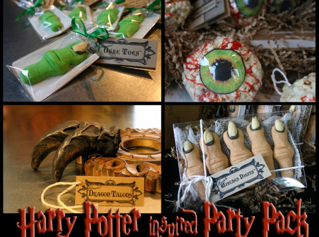 Harry Potter Inspired Kids Birthday Party Halloween