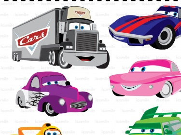 page 1 page 2 page 3. disney cars party on. disney cars clip art ...