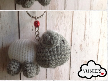Crochet Sheep Keychain Anigurumi Free Patterns | 281x375