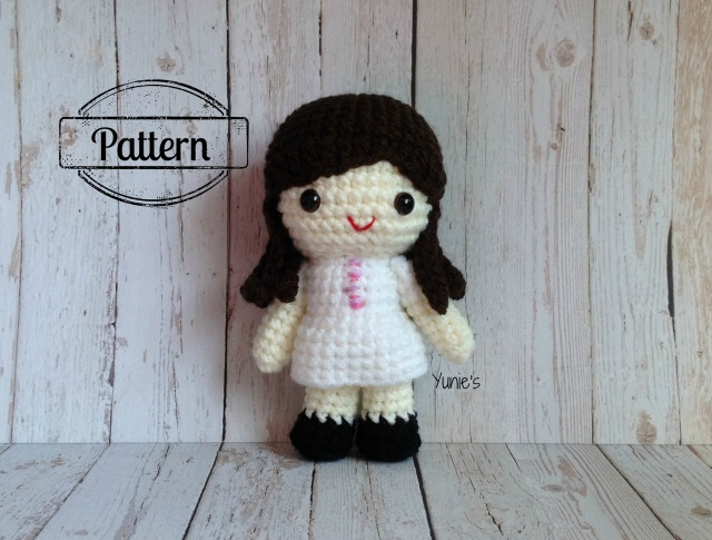 Judith the nurse amigurumi pattern - Amigurumipatterns.net | 485x640