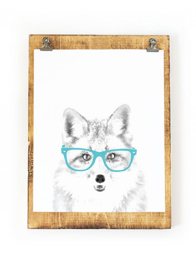 image about Fox Printable named Fox Artwork, Fox Print, Animal Artwork, Forest Nursery, Animal Printables, Fox with gles, Fox Printable, 8x10, PRINTABLE Artwork, Electronic Obtain Meylah