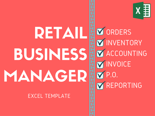 excel templates for retail business