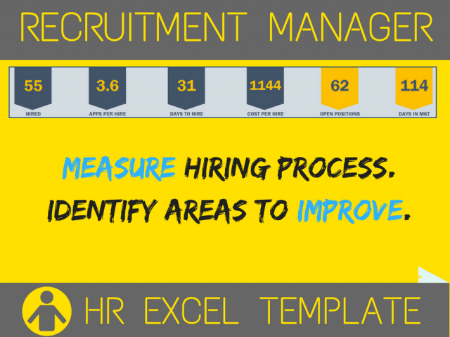 Recruitment Manager Excel Template V2  INDZARA