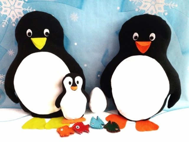 Penguin Sewing Pattern, March of the Penguins | Meylah
