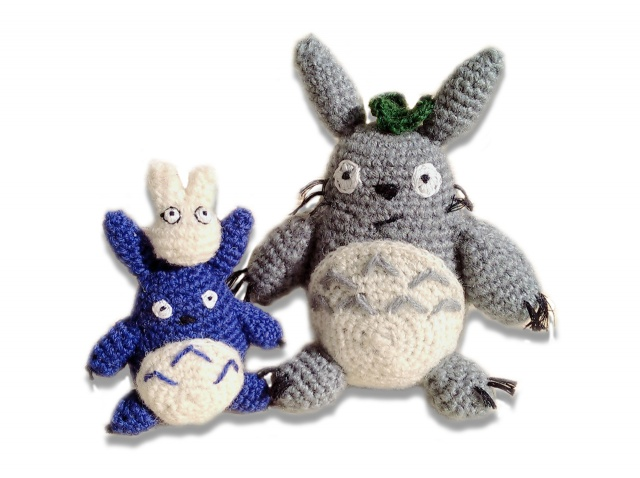 Amigurumi Stop Motion Animation - Little Totoro and Friends - YouTube | 478x640