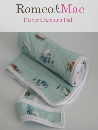 baby changing pad tutorial sewing pattern