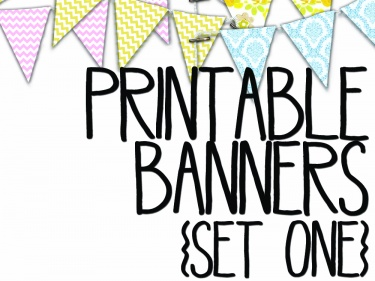picture about Printable Banner named Printable banners. Chevron basic floral sheets. Meylah