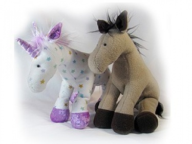 Knitting Pattern For Unicorn Toy : FREE KNITTING PATTERNS TOY HORSE - VERY SIMPLE FREE ...
