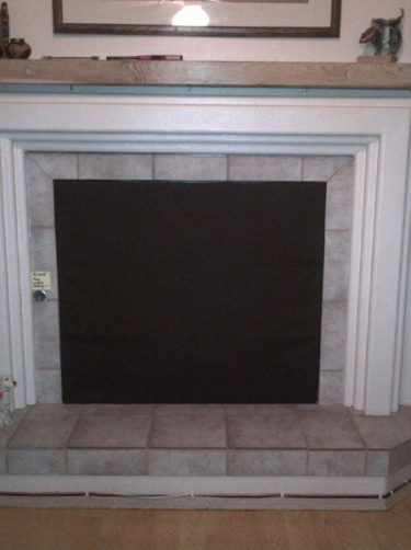 Insulated Magnetic Fireplace Fashion Cover | Meylah