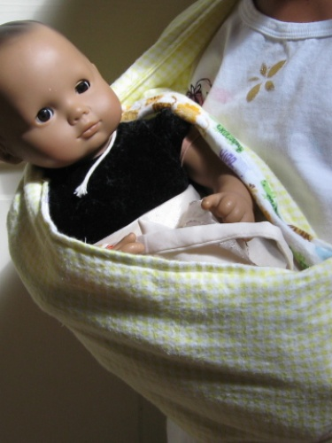 Baby Doll Sling Carrier PDF Sewing Pattern fits Bitty Baby, American ...