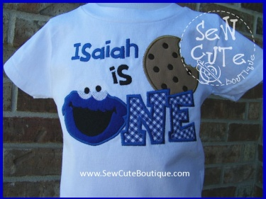 Cookie Monster Birthday Shirt Meylah