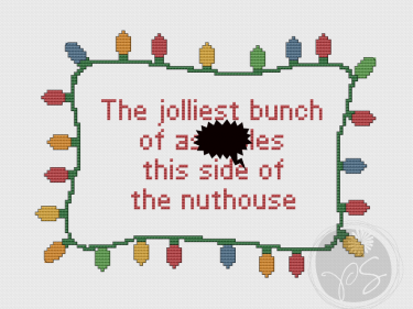 National Lampoon Christmas Vacation Quote (Printable PDF Pattern)