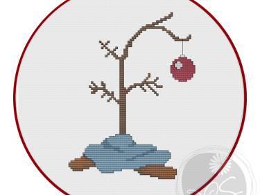 charlie brown christmas tree printable pdf pattern