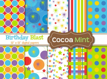 add to cart birthday blast printable paper fun and colo