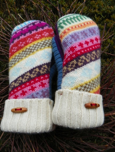 House Revivals: Felted Wool Mittens
