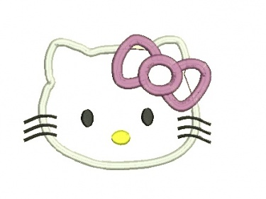 Hello kitty applique design 11 instant download meylah