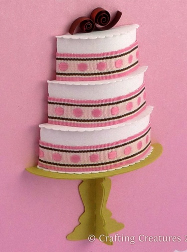 3d Cake Collection Paper Die Cutting Files Meylah
