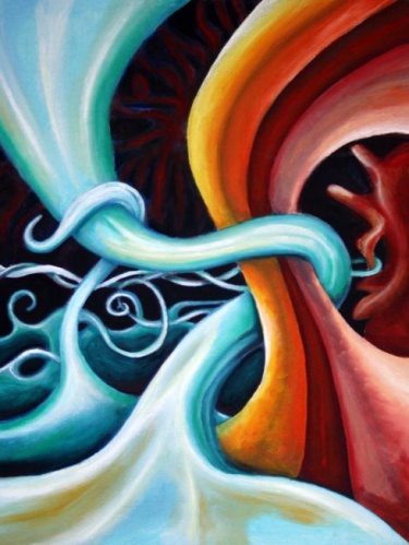 Oil On Canvas Paintings Abstract
