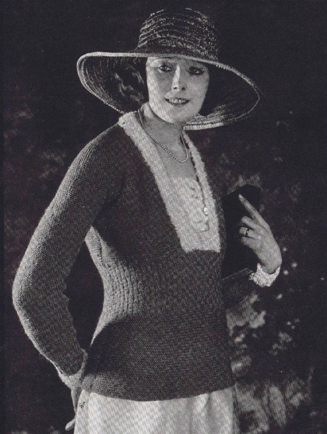 1920s Sweaters Scarves Hats Crocheted Lace Parasols ...