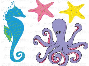 It is a graphic of Revered Under the Sea Printables Free